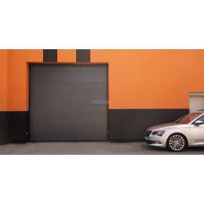 Промышленные секционные ворота Алютех ProPlus 5000х4000