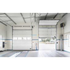 Промышленные секционные ворота Алютех ProPlus 4000х4000