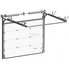 Промышленные секционные ворота Алютех ProPlus 4500х5000
