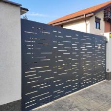 Откатные ворота SELECT серии CREO, размер 4000х2300 мм