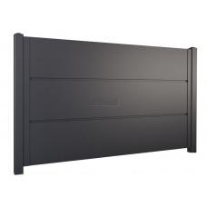 Ограждения - заборы SELECT - Металлические секции серии PANEL, размер 1500х2000 мм