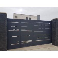 Откатные ворота SELECT серии CREO, размер 3500х2000 мм