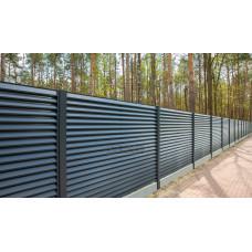 Ограждения - заборы Select - Металлические секции серии Jaluzi, размер 2500х1500 мм