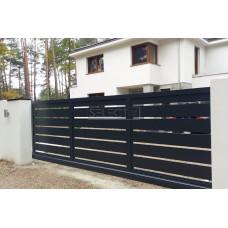 Откатные ворота SELECT серии PLUS LINE, размер 3500х2000