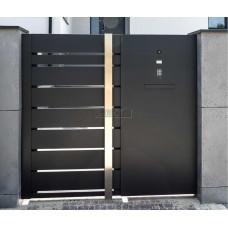 ОГРАЖДЕНИЯ - ЗАБОРЫ SELECT - Металлические секции серии PLUS LINE, размер 1000х2000 мм