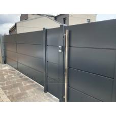 Откатные ворота SELECT серии PANEL, размер 3500х2000