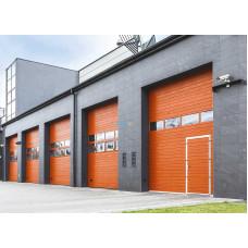Промышленные секционные ворота Алютех ProTrend 4000х3000