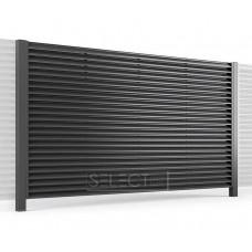 Ограждения - заборы Select - Металлические секции серии Jaluzi, размер 2000х2000 мм