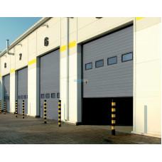 Промышленные секционные ворота Алютех ProPlus 6000х5000