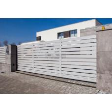 Откатные ворота SELECT серии LINE, размер 4000х2300