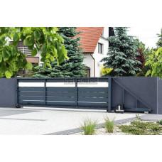 Откатные ворота SELECT серии PLUS LINE, размер 4000х2300