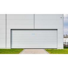Промышленные секционные ворота Алютех ProPlus 5000х3000