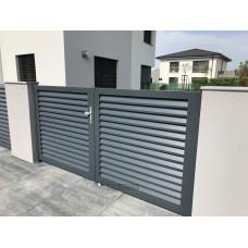 Ограждения - заборы Select - Металлические секции серии Jaluzi, размер 2500х2000 мм